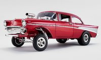 1957 Chevrolet Bel Air Gasser - Rat Fink  Diecast Model by Acme in 1:18 Scale