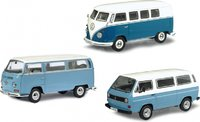 VW Transporter 3 pc. set in 1:43 Scale by Schuco