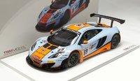 2013 McLaren 12C GT3 Gulf Racing Model Car in 1:18 Scale by True Scale Miniatures