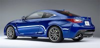 Lexus RCF in Blue w Red Interior New Samurai Series Resin Model Car in 1:18 Scale by Kyosho