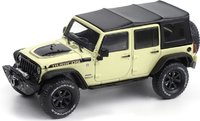 2018 Jeep Wrangler Unlimited Rubicon Recon, Gobi in 1:43 scale by Greenlight
