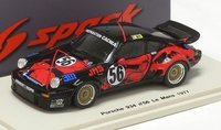 1977 Porsche 934, No.56, Le Mans Model Car in 1:43 Scale by Spark