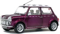 Mini Cooper Sport Metallic Purple in 1:18 Scale by Solido