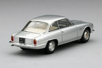 1962 Alfa Romeo Sprint 2600 1962 in Light Silver Resin Model Car in 1:43 Scale by Truescale Miniatures-1
