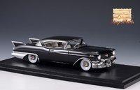 1957 Cadillac Eldorado Seville Black in 1:43 Scale by GLM