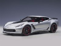 Chevrolet Corvette C7 Z06 Blade Silver in 1:18 Scale by AUTOart