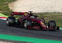 Ferrari SF1000 GP Tuscany sebastian Vettel  w/showcase in 1:18 scale by BBR