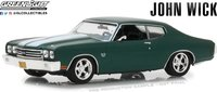 1970 Chevrolet Chevelle SS 396 John Wick in 1:43 Scale by Greenlight