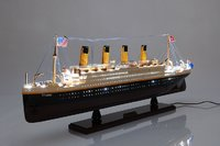 Titanic Ship With Lights by Old Modern Handicrafts