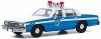 1986 Chevrolet Caprice Wilmette IL Police (Home Alone Movie 1990) in 1:43 scale by Greenlight