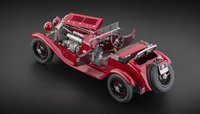 1930 Alfa Romeo 6C 1750 GS Diecast Model by CMC in 1:18 Scale