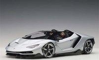 Lamborghini Centenario in Silver in 1:18 Scale by AUTOart