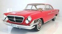 1962 Chrysler 300H 2-Door Hardtop Red in 1:18 Sale by BoS Models