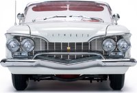 1960 Plymouth Fury Convertible in Oyster White Diecast Model in 1:18 Scale by Sun Star