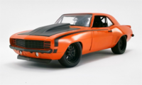 1969 Chevrolet Camaro Street Fighter Inferno Diecast by GMP in 1:18 Scale