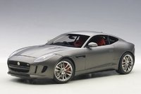 2015 Jaguar F-Type R Coupe in Matt Grey in 1:18 Scale by AUTOart