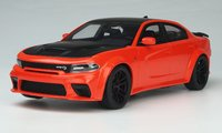 2021 Dodge Charger SRT Hellcat Red Eye Go Mango in 1:18 Scale by GT Spirit