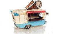 1966 Ice Cream Trailer Metal Handmade by Old Modern Handicrafts