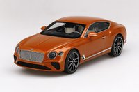 Bentley Continental GT Orange Flame in 1:18 scale by Topspeed