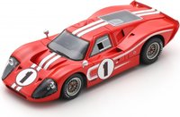 Ford MK IV No.1 Winner 24H Le Mans 1967 in 1:43 scale by Spark