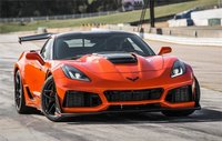 2019 Chevrolet Corvette ZR1 in Sebring Orange Tincoat in 1:18 Scale by AUTOart