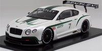 Bentley Continental GT3 Mondial de l'Automobile 2012 Model Car in 1:18 Scale by True Scale Miniatures