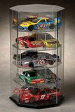 10 Scale Car Display Case - Manual Spinning- for 1:24 scale models