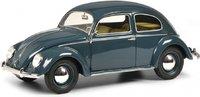 VW Kafer split window Blue in 1:18 Scale by Schuco