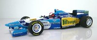 1995 BENETTON FORD B195 JOHNNY HERBERT WINNER  BRITISH GP IN 1:18 SCALE by Minichamps
