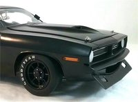 1970 Plymouth Trans Am Cuda, Street Version in 1:18 Scale by Acme