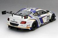 2014 Bentley GT3 British GT Generation Bentley Racing Model Car in 1:18 Scale by True Scale Miniatures