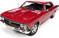 1966 Chevrolet Chevelle SS 396 Hardtop - Regal Red in 1:18 scale by Auto World