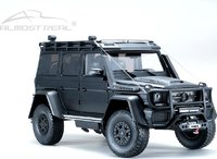 Mercedes-Benz Brabus Adventure G550 4x4² in Matt Black Diecast Model in 1:18 by Almost Real