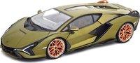 2020 Lamborghini Sian FKP 37 in green 1:18 scale by Bburago