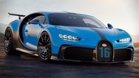 Bugatti Pur Sport in Agile Blue by MR Collection Fine Model in 1:18 Scale