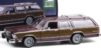 1985 Mercury Grand Marquis Colony Park in 1:18 Scale by Greenlight
