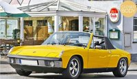 1973 VW Porsche 914-6 in yellow 1:18 scale by Norev