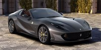 2020 Ferrari 812 GTS High End Resin Model in Grey in 1:18 scale by MR Collection