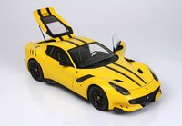 Ferrari F12 TDF Modena Yellow 4305 in 1:18 scale by BBR