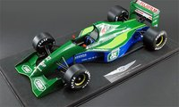 1991 Belgian Grand Prix Michael Schumacher Resin Model by Real Art Replicas in 1:8 Scale