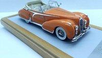 """1948 Delahaye 135 Cabriolet Figoni & Falaschi """"El Glaoui"""" sn800954 Open Top Resin Model Car in 1:43 Scale by Ilario"""
