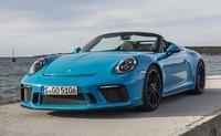 2019 Porsche 911 Speedster in Miami Blue in 1:18 Scale by Spark