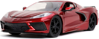 2020 C8 Corvette Stingray red in 1:24 scale by Jada