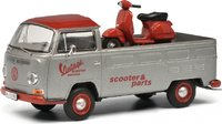 VW T2a VINTAGE SCOOTER in 1:43 Scale by Schuco