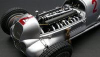 Mercedes-Benz W125, 1937 GP Donington, #2, Limited Edition of 1,000 pcs Diecast Model Car by CMC in 1:18 Scale