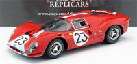 1967 Ferrari 412 P at Le Mans #23 in 1:12 Scale  by CMR