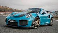 Porsche 911 (991.2) GT2 RS in Miami Blue in 1:18 Scale by AUTOart