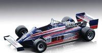 Lotus 87 #11 1981 Monaco GP Elio de Angelis in 1:18 scale by Tecnomodel