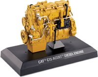 Cat® C15 ACERT Diesel Engine in 1:12 scale by Diecast Masters