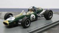 Brabham BT19 No.16 Winner Dutch GP 1966 in 1:43 Scale by Spark
